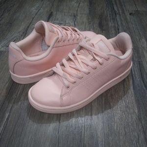 Adidas sneaker size 8 Neo Cloudfoam Advantage Pink
